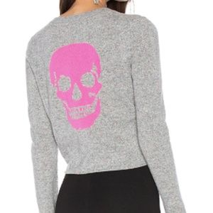 Skull Cashmere Sweater with Festival Skull